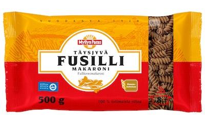 Myllyn Paras Täysjyvä Fusilli makaroni 500g makaroni
