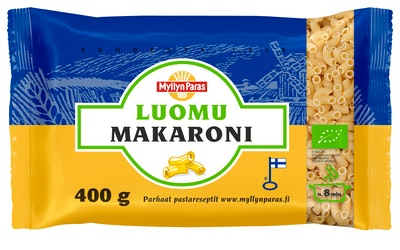Myllyn Paras Luomu Makaroni 400 g