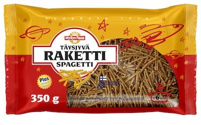 Myllyn Paras Täysjyvä Raketti Spagetti 350 g runsaskuituinen pätkäspagetti