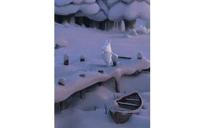 Muumilaakso muistikirja Winter