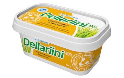 Maitokolmio dellariini 400g voi-rypsiöljyseos 80%