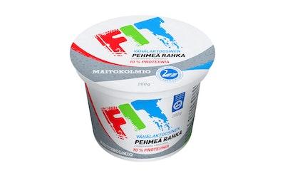 Maitokolmio FIT pehmeä rahka 200 g