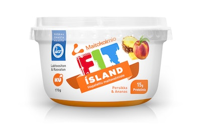 FIT ISLAND 170g persikka-ananas