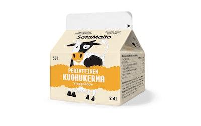 Satamaito 2dl perinteinen kuohukerma 35%