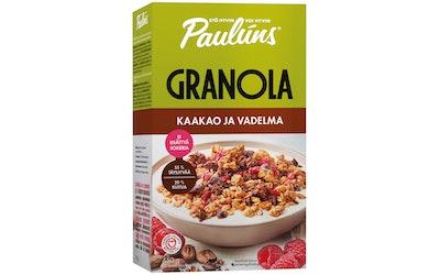 Paulúns 450g kaakao ja vadelma granola muromysli