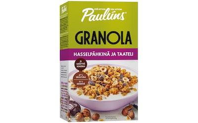 Paulúns 450g hasselpähkinä ja taateli granola muromysli