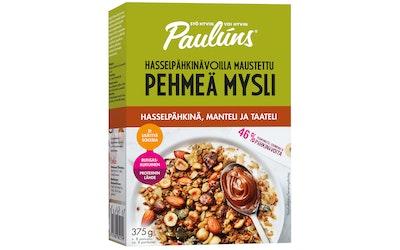 Paulúns Pehmeä mysli hasselpähkinä, manteli ja taateli 375g