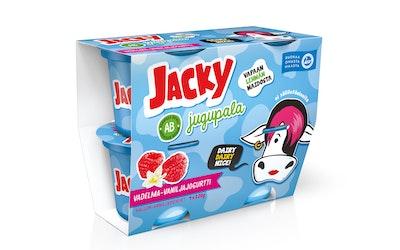 Jacky Jugupala vadelma-vaniljajogurtti 4x120g