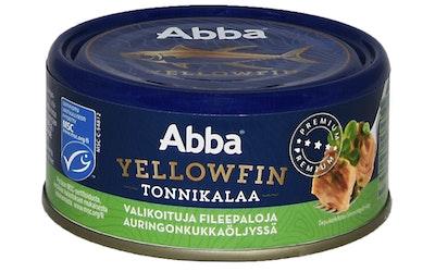 Abba Yellowfin tonnikalaa öljyssä MSC 150 g/105 g