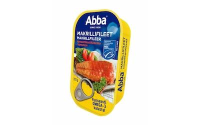 Abba makrillifileet tomaattikastikkeessa 125g