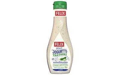 Felix kevyt jogurtti-tsatsiki salaattikastike 375g
