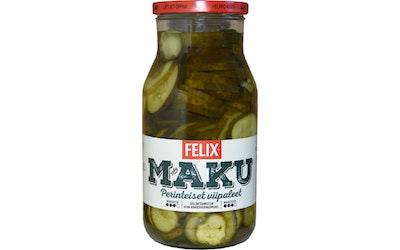 Felix Maku viipaloituja kurkkuja mausteliemessä 1200g/690g