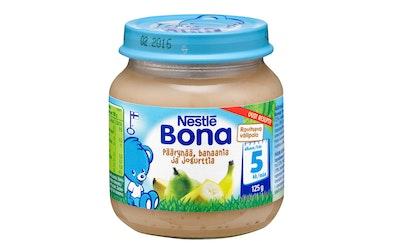 Nestlé Bona Päärynää, banaania ja jogurttia 125g 5kk