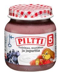 Piltti 5kk Vadelma Mustikka Jogurtti 125g