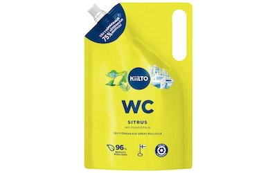 Kiilto WC-puhdistus spray täyttö 1l sitrus