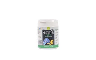 Elixi Pellavansiemöljykapseli 90kpl 120g 100% Vegaaninen