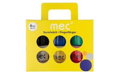 M.E.C sormiväri 6 x 80 ml