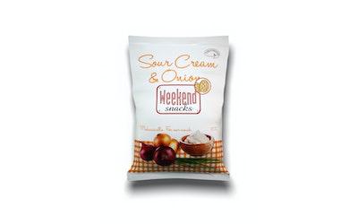 Weekend Snacks Sour Cream & Onion Snacks 200g