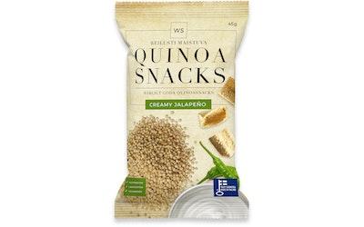 WS quinoa snacks 45g creamy jalapeno