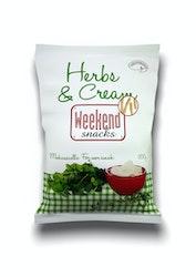 Weekend Snacks Herbs & Cream 200g