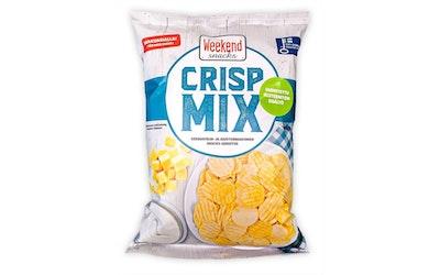 Crisp Mix 180g Kermaviilin- ja juustonmakuinen perunasnacks-sekoitus