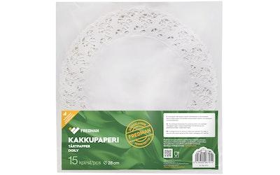 Eskimo kakkupaperi 28cm 15kpl