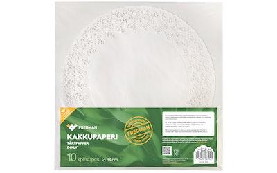 Eskimo iso kakkupaperi 34cm 10kpl