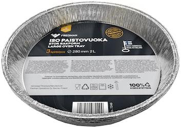 Eskimo-grilli-ja paistovuoka 270mm/3kpl