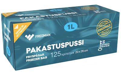 Eskimo pakastuspussi 1l 125kpl