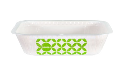 Comple muovikaulusvuoka 7,5dl vihreä 500kpl