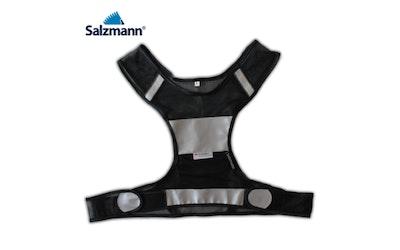 Salzmann turvaliivi tarrakiinnitys, musta, koko S/M