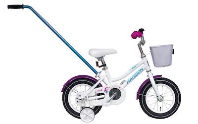 """Madison Luna 12"""" lasten polkupyörä, valkoinen"""