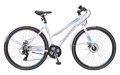 Madison Napoli 28'' 21-v 48cm naisten polkupyörä, valkoinen - kuva
