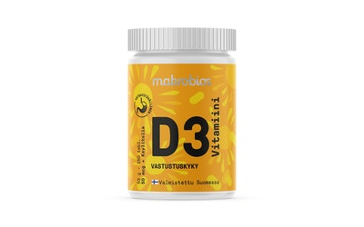 MakroBios D vitamiini 150tabl 53g
