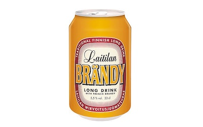 Laitilan Brändy long drink 5,5% 0,33l