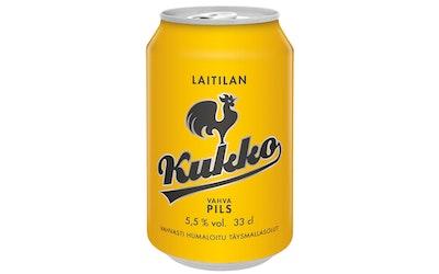 Laitilan Kukko Vahva Pils olut 5,5% 0,33l