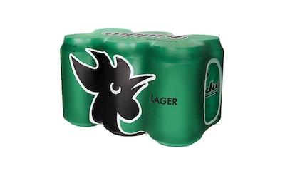 Kukko Lager olut 4,7% 0,33l 6-pack