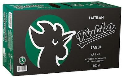 Kukko Lager 4,7% 0,33l 18-pack