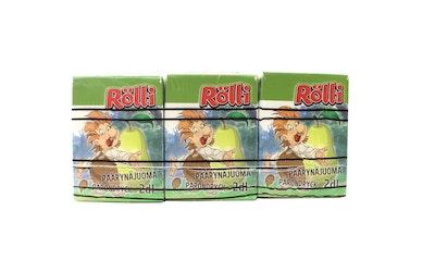 Rölli päärynäjuoma 2dl 3-pack