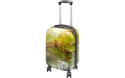 Muumi matkalaukku Silta vihreä 40cm