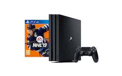 Sony PlayStation 4 Pro 1 Tt pelikonsoli + NHL19