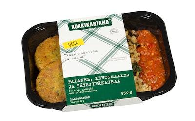 Kokkikartano falafel, lehtikaalia ja täysjyväkauraa 350 g