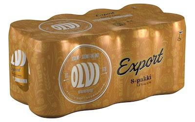 Olvi Export 5,2% 0,33l 8-pack