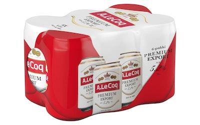 A.Le Coq premium export 5,2% 0,33l 6-pack