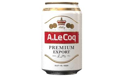 A.Le Coq Prem Export 5,2% 0,33l
