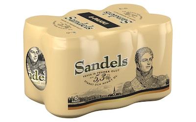 Sandels 5,3% 0,33l 6-pack