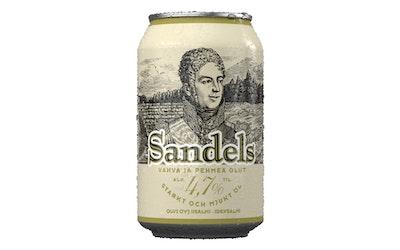Sandels olut 4,7% 0,33l