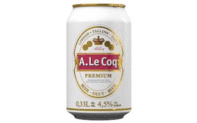 A.Le Coq Premium olut 4,5% 0,33l