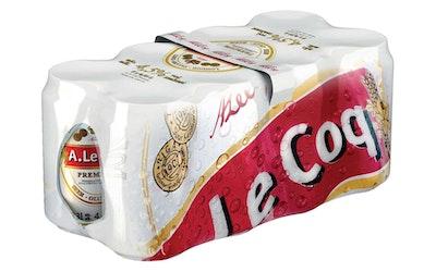 A.Le Coq Premium 4,5% 0,33l 8-pack