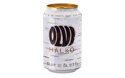 Olvi Halko olut 4,5% 0,33l tlk SI